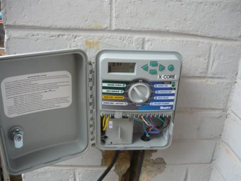 Montáž ovládací jednotky  připojení čidla a elektromagnetických ventilů